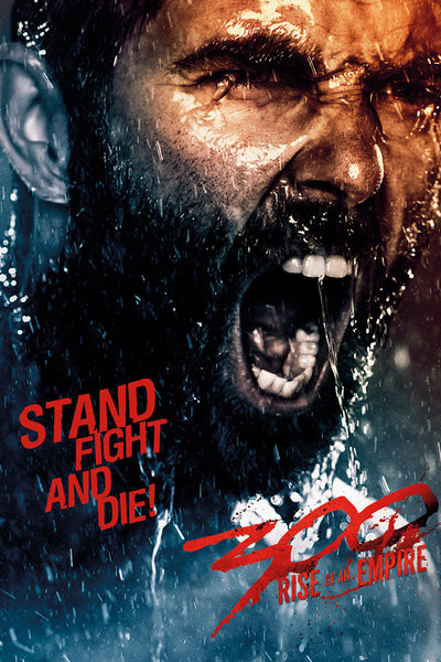 300: LA NAISSANCE D'UN EMPIRE - fight & die Affiche