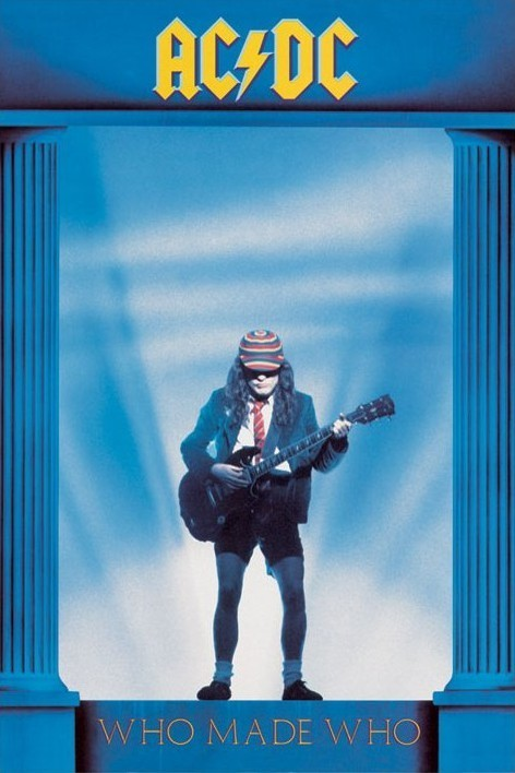 AC/DC - who made who Affiche