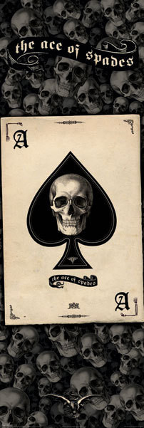 Ace of spades Affiche