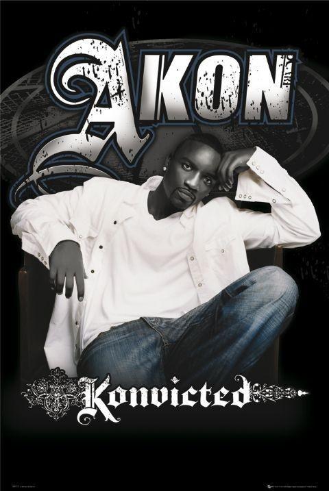 Akon - konvicted Affiche