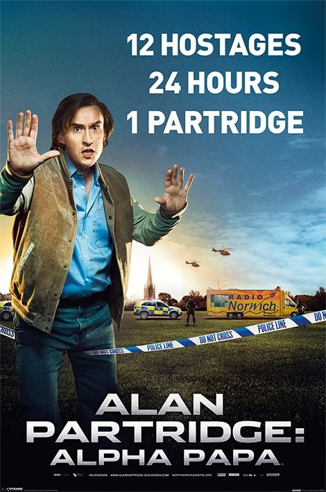 ALAN PARTRIDGE - alpha papa Affiche