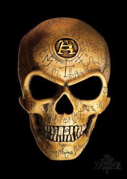 Alchemy - omega skull Affiche