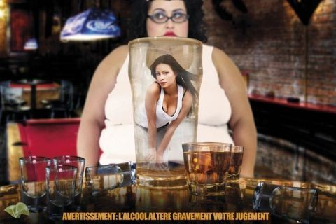 Alcohol warning - france Affiche