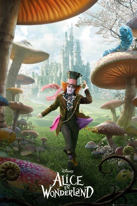 Alice in wonderland - teaser Affiche