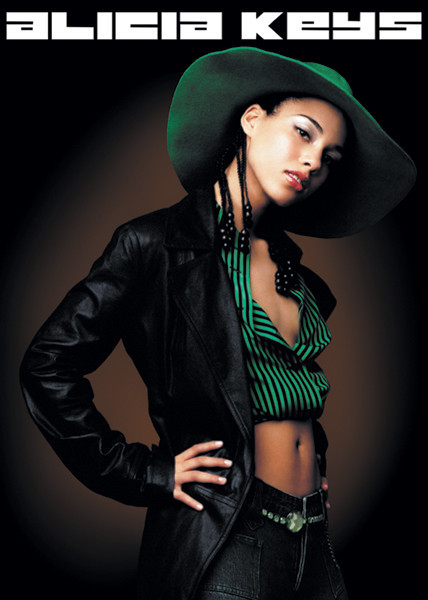 Alicia Keys - pose Affiche