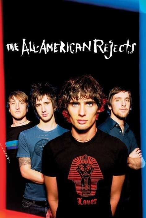 All American rejects - group Affiche