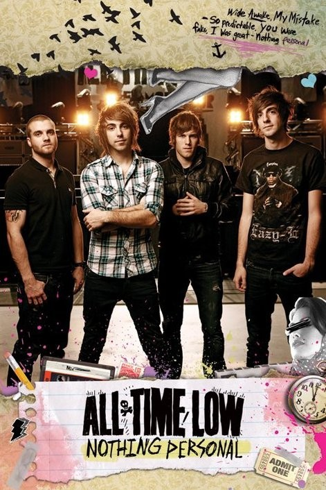 All time low - nothing persona Poster