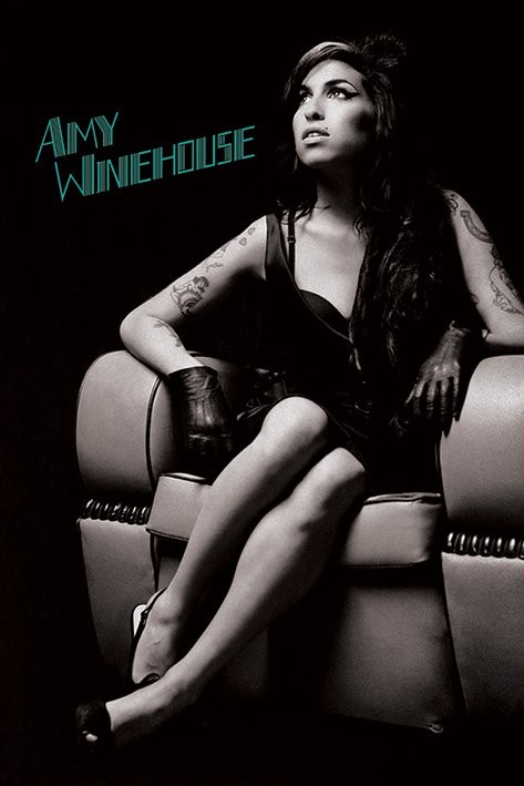 Amy Winehouse - Chair Affiche