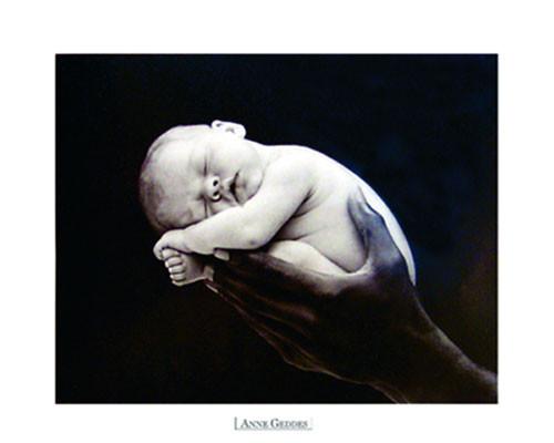 Anne Geddes - hand Affiche