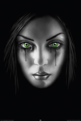 ANNE STOKES - sad face Affiche