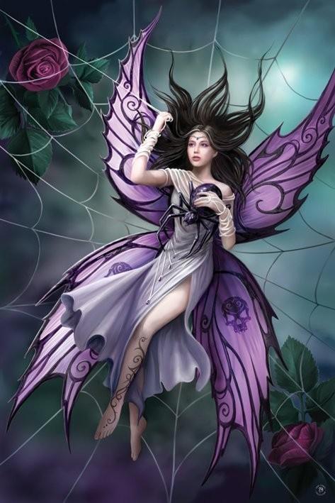 Anne Stokes - silk lure Affiche