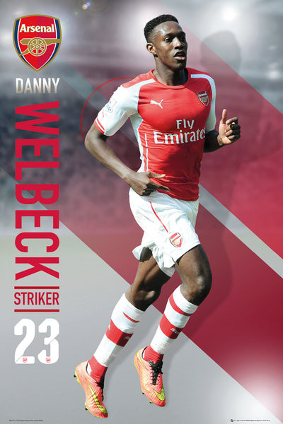 Arsenal FC - Welbeck 14/15 Affiche