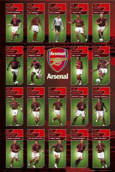 Arsenal - squad profiles 05/06 Affiche