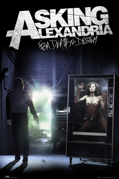 Asking Alexandria - from death to destiny Affiche