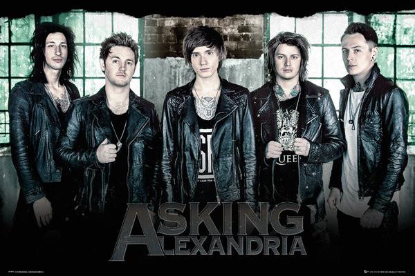 Asking Alexandria - Window Affiche