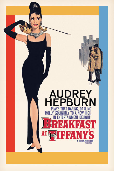 AUDREY HEPBURN - one sheet Affiche