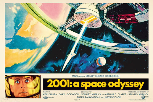 AVELA - 2001 a space odyssey Affiche