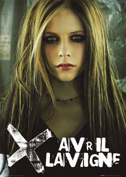 Avril Lavigne - eyeshadow Affiche