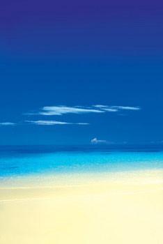 Barbuda Beach Affiche