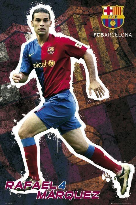 Barcelona - marquez 08/09 Affiche