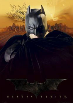 BATMAN BEGINS - sunset Affiche