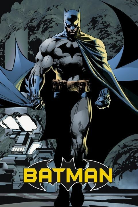BATMAN - comic Affiche
