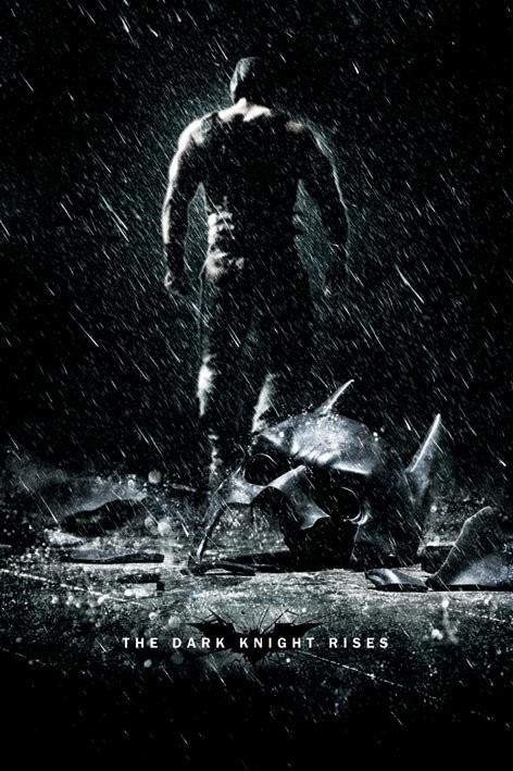BATMAN DARK KNIGHT RISES - bane Affiche