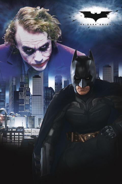 BATMAN - duel Affiche