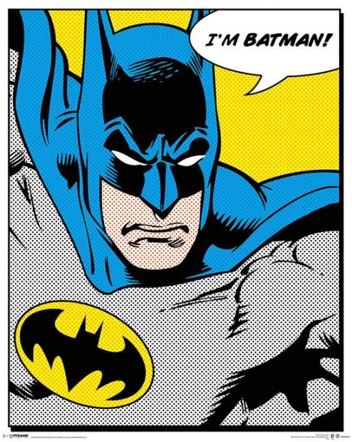 BATMAN - quote Affiche