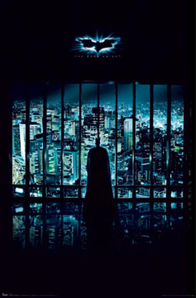 BATMAN THE DARK KNIGHT - gotham city Affiche
