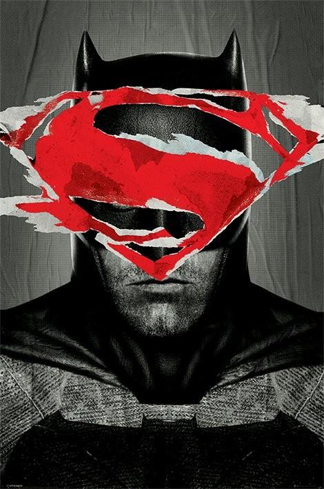 Batman v Superman: l'aube de la justice - Batman Teaser  Affiche