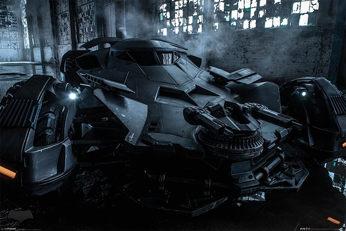Batman v Superman : L'Aube de la Justice - Batmobile Affiche
