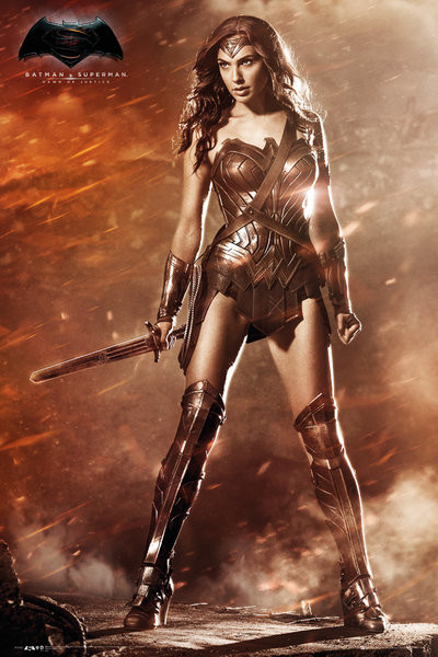 Batman v Superman : L'Aube de la Justice - Wonder Woman Affiche