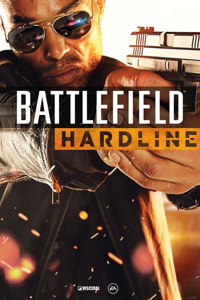 Battlefield Hardline - Cover Affiche
