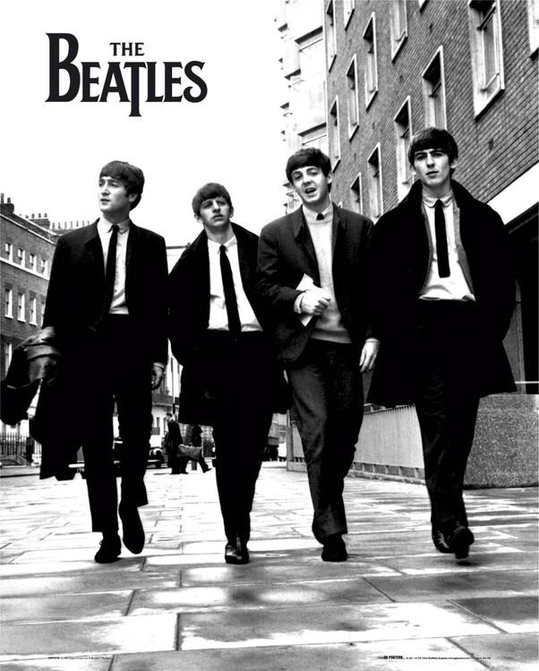 Beatles - in london Affiche