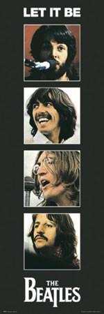 Beatles – let it be Affiche