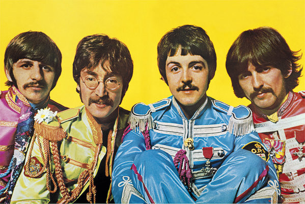 Beatles - Lonely Hearts Club Affiche