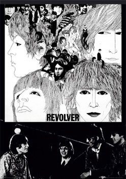 Beatles - revolver Affiche