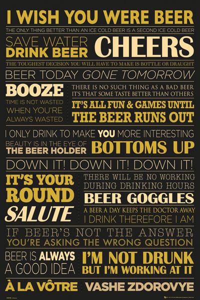 Beer - life Affiche