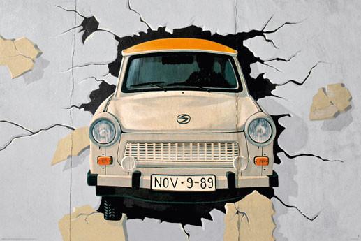 Berlin - mauer Affiche