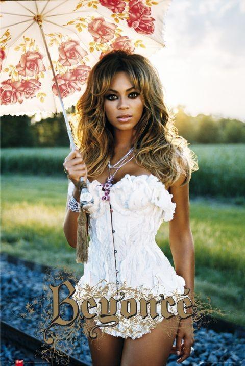 Beyonce - umbrella Affiche