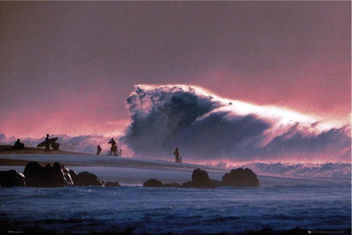 Big wave Affiche