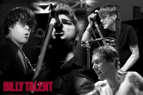 Billy Talent - live Affiche