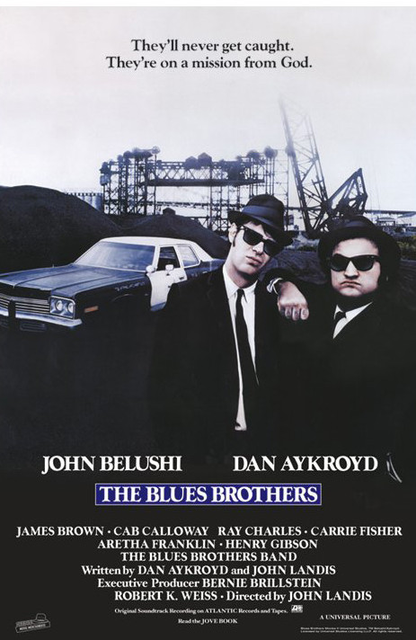 BLUES BROTHERS - one sheet Affiche