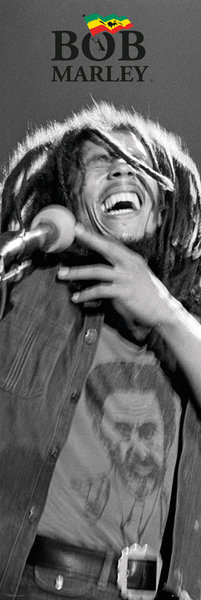 Bob Marley - Black and White Affiche