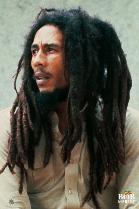 Bob Marley – lion Affiche