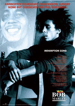 Bob Marley - Redemption song Affiche