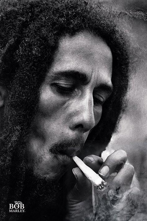 Bob Marley - Smoke Affiche