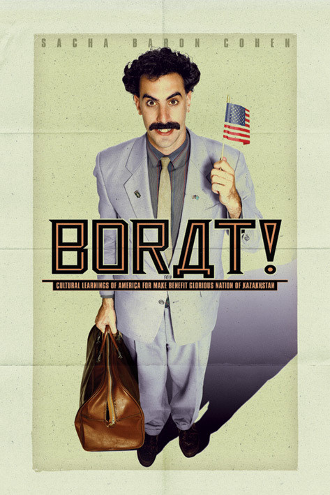BORAT - one sheet Affiche