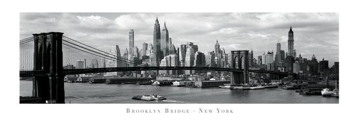 Brooklyn bridge - New York Poster